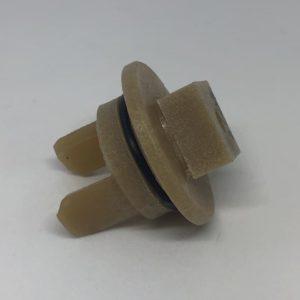 Втулка шнека мясорубки Bosch 418076 с отверстием