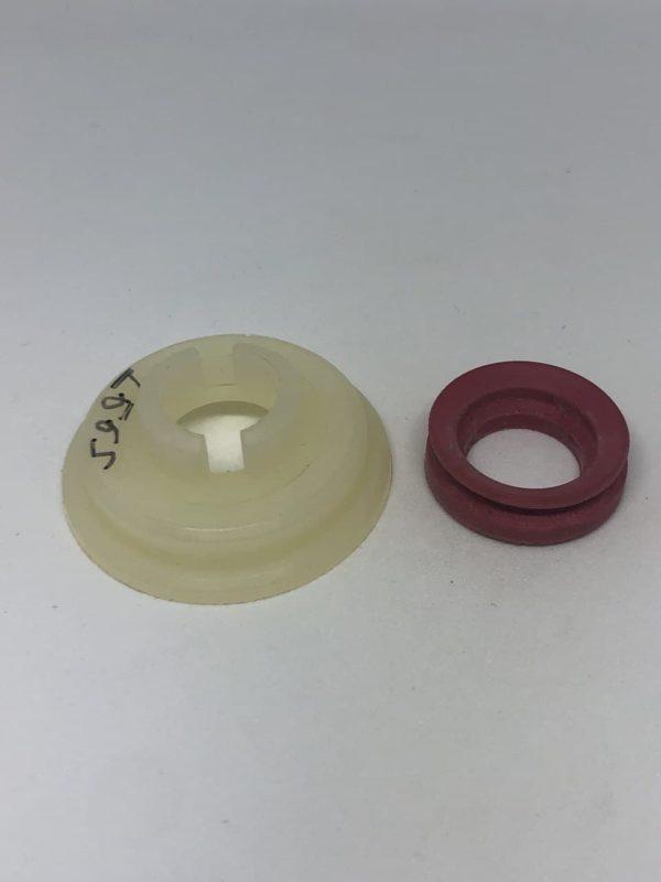 Втулка шнека мясорубки Гаммма D35 d13 H13+резиновое уплотнение