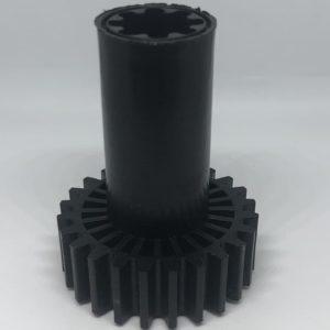Шестеренка мясорубки Braun 7051414 шнековая (черная)