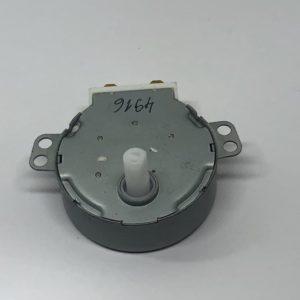 Мотор вращения тарелки СВЧ печи 220-240V, 4W, 5 r/min шток d7mm срез 6mm h14mm