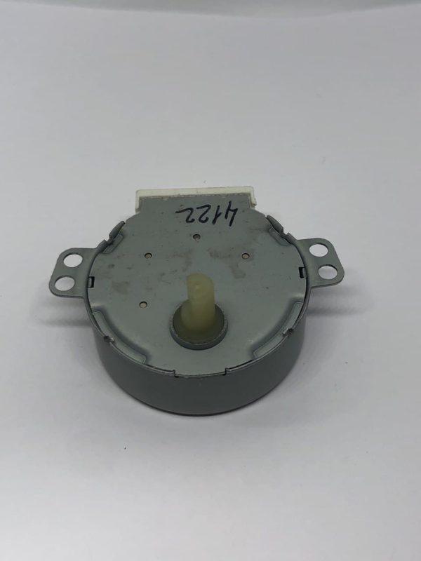 Мотор вращения тарелки СВЧ печи 21V, 3,5/4W, 4/5 r/min шток d7mm срез 5mm h11mm