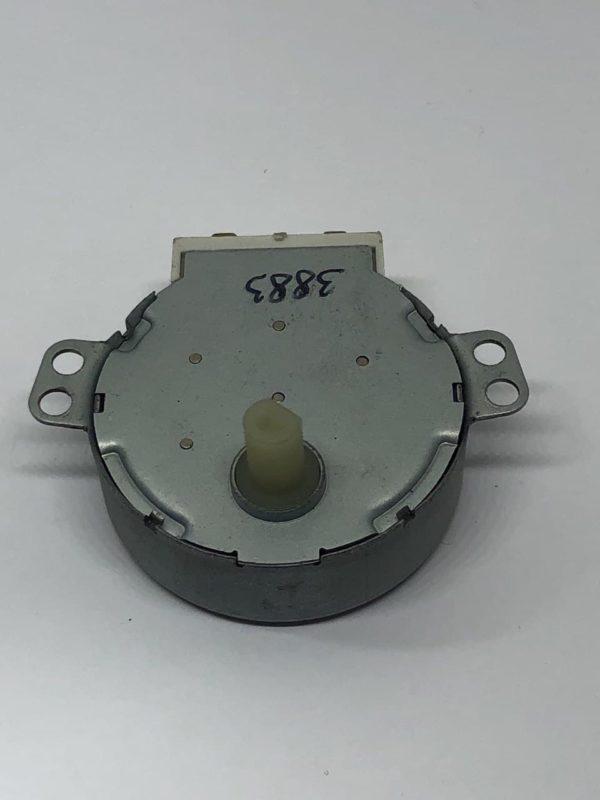 Мотор вращения тарелки СВЧ печи 220V 4W, 4 r/min шток d7mm срез 6mm h11mm
