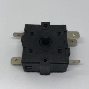 Переключатель 6-и позиционный масляного радиатора (5 контактов) без фиксации