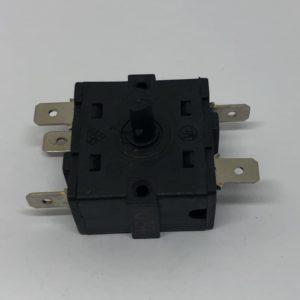 Переключатель 3-х позиционный масляного радиатора 0-1-2-3 (5 контактов)