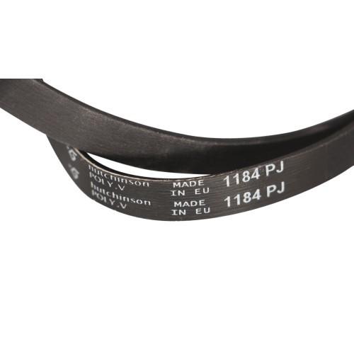 Ремень 1184 J5 EL черный