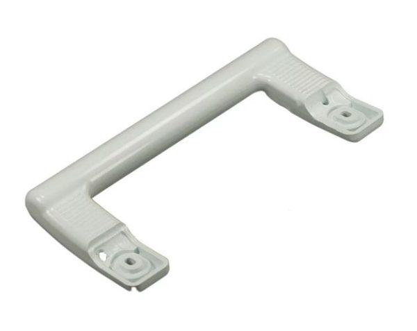 Ручка двери холодильника Бирюса скоба м/у крепеж.отверстиями 23 см белая