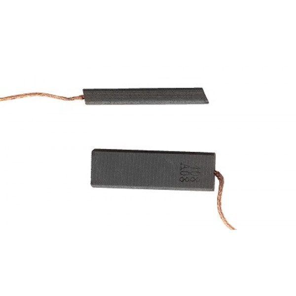 Щётки для эл.двигателя 5х13,5х35 провод от центра(плетенный) Китай SKL