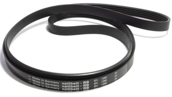 Ремень 1280 J5 черный Optibelt  <1235mm> ! Electrolux, Zanussi !