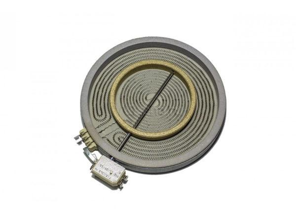 Эл.конфорка (стекло) D230mm, лента d207 2100W/700W с расширением