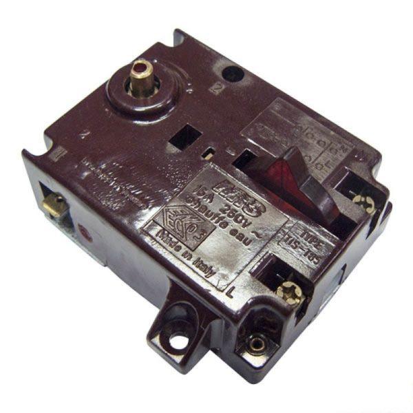 Термостат в/н прямоуг. TIS-T-85 AT 15A 691598