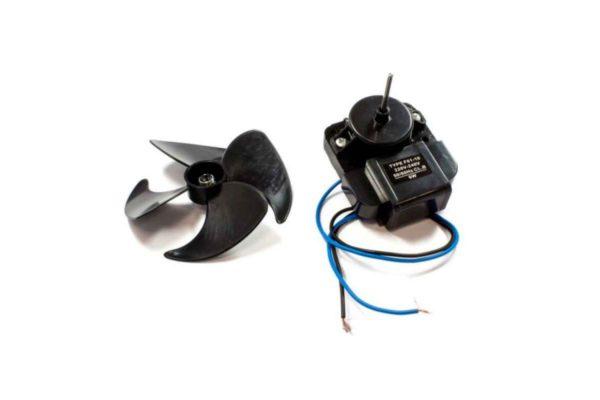 Электродвигатель вентилятора х/ка Ariston, Indesit, Stinol 851102 + крыльчатка