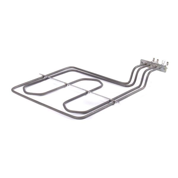 ТЭН духовки HANSA (2900ВТ) верхний + гриль (контакты загнуты и смещены вбок) 8071981
