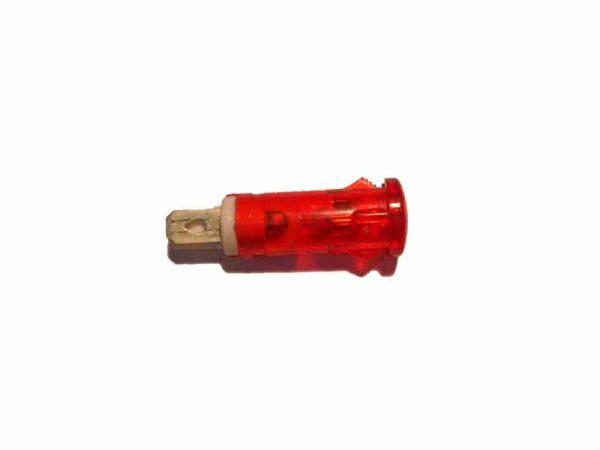 Лампа сигнальная электроплиты Beko красная 265100003 оригинал