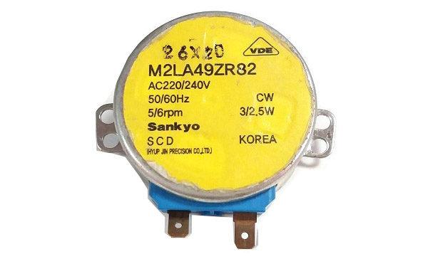 Двигатель х/ка Samsung открывания заслонки M2LA49ZR82 220/240V 5/6rpm DA31-10107C