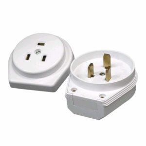 Разъем штепс. 3-конт. для эл.плит 32А белый (Мосэлектроприбор)