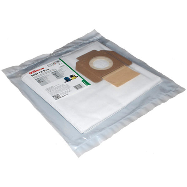 Мешок пром.пылесоса Karcher 2 шт 20л BSH15, нетканый одноразовый (T7 - T17/1)
