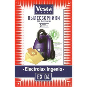 Мешок пылесоса одноразовый Electrolux упаковка 5 шт Веста EX04