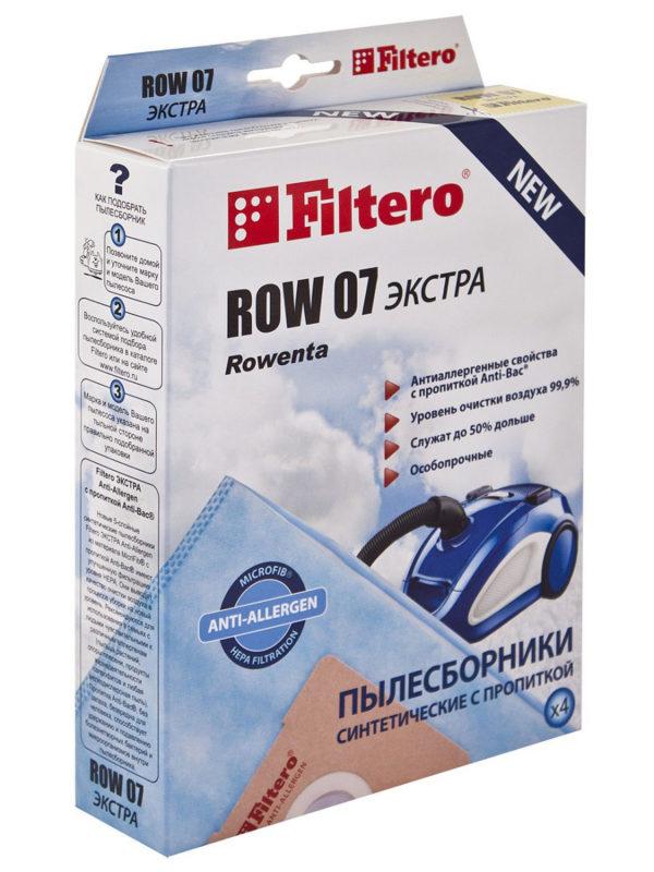 Мешок пылесоса нетканый одноразовый Rowenta упаковка 4 шт ROW07