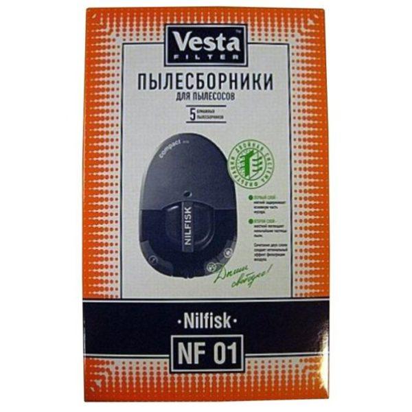 Мешок пылесоса одноразовый Nilfisk: Compact упаковка 5 шт Веста NF01