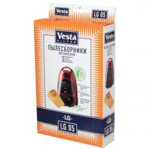 Мешок пылесоса одноразовый LG упаковка 5 шт Веста LG05