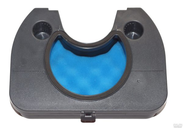 Фильтр пылесоса Samsung (полумесяц) в держателе DJ97-00496A SC65, SC66, SC67, SC68