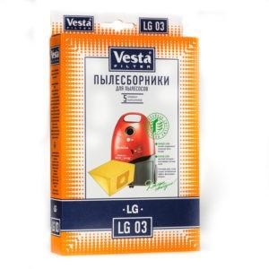 Мешок пылесоса одноразовый LG, Polar упаковка 5 шт Веста LG03