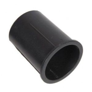 Насадка пылесоса универс маленькая 76мм с щетиной + переходник для труб 32 и 35 мм